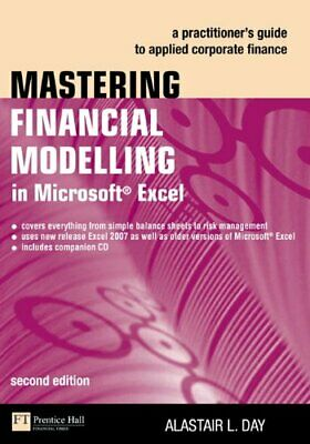 Mastering Financial Modelling in Microso... by Day, Alastair Mixed media product