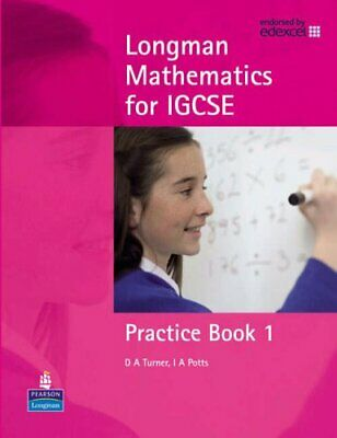 Longman Mathematics for IGCSE Practice Book 1: Practi... by Potts, Ian Paperback