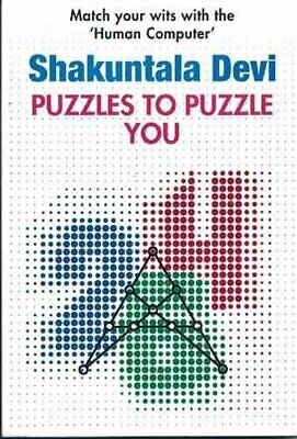 Puzzles to Puzzle You by Devi Shakuntala Paperback Book The Cheap Fast Free Post