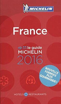 France 2016 (Michelin Red Guides and National Guides) by Michelin Book The Cheap