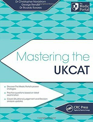 Mastering the UKCAT by Nordstrom, Dr. Christopher Book The Cheap Fast Free Post