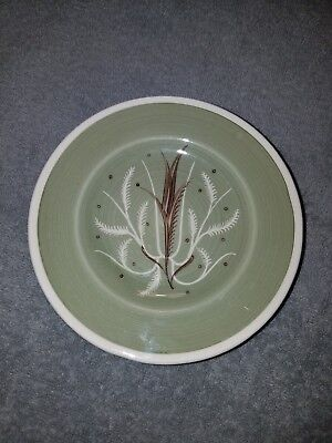 """Susie Cooper 6"""" Bread & Butter Plates Set Of (5) Chinese Fern Green"""