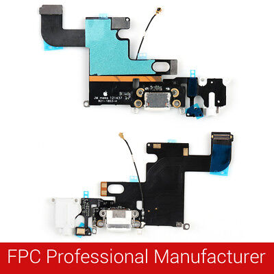 For iPhone USB Charging Port Dock Connector Flex Cable Fix Replacement Parts MD