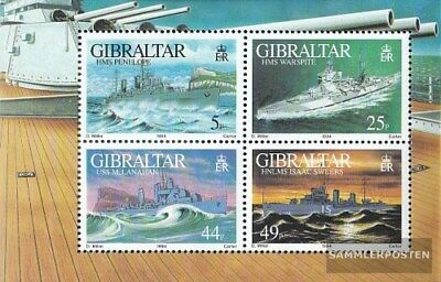 Gibraltar block19 (complete.issue.) unmounted mint / never hinged 1994 Warships