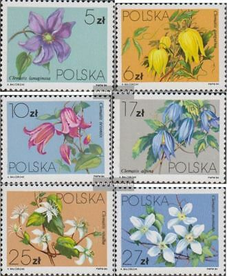Poland 2906-2911 (complete.issue.) unmounted mint / never hinged 1984 Kletterpfl