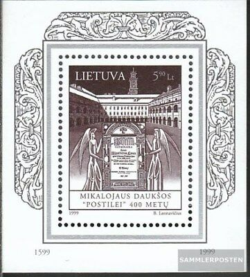 Lithuania block15 (complete.issue.) unmounted mint / never hinged 1999 400 years