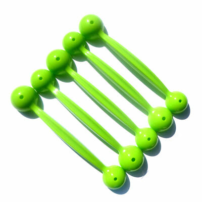 Tupperware 5 x Melon Baller Gadgets Games Gift Lime Green Rockmelon Watermelon