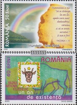 Romania 5971,5988 (complete.issue.) unmounted mint / never hinged 2005 Flutkatas