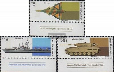 Israel 947-949 with Tab (complete issue) unmounted mint / never hinged 1983 Rüst