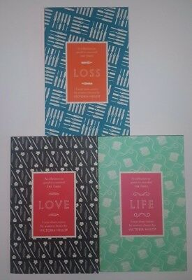 Short Story Anthology 3 Books Set: Loss, Love, Life, Compiled by Victoria Hislop