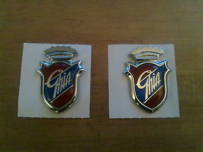 Ford Galaxy Genuine Ford New Old Stock Ghia Badges X 2 (Free Post)