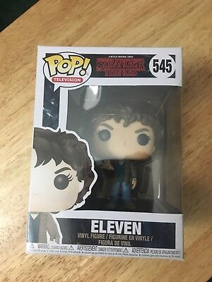 FUNKO POP! TELEVISION: STRANGER THINGS - ELEVEN 545 (SERIES 3) VINYL Authentic
