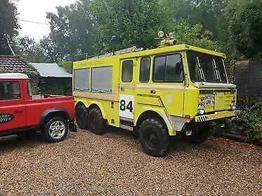 Stonefield P5000 Military Fire Engine Fire Truck Land Rover 101 Forward Control
