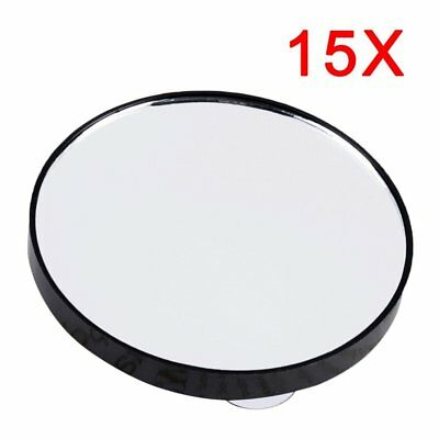 Beauty compact Round Makeup Mirror 5X/10X/15X Magnifying With Two Suction Cups T