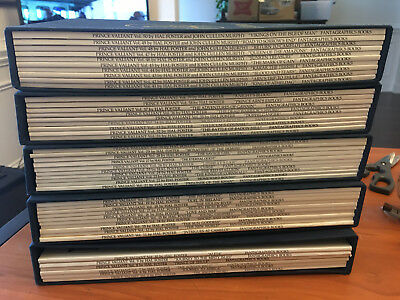 Prince Valiant  Hal Foster Almost Complete Run 50 Books Missing Only 5 In Cases