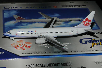 China Airlines Boeing 737-800 1:200 FlugzeugModell B737 B737-800 ABO-73780H-012