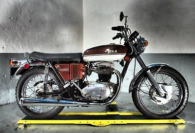 1971 BSA A65 Thunderbolt,rare 1 owner US bike ,10k ,matching numbers investment