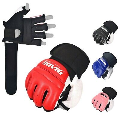 Blade Leather MMA UFC Martial Arts Gloves Training Boxing Body Combat Punch Bag
