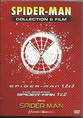 Spider-Man 6 Movie Film 1-6 Collection DVD Box Set Homecoming Spiderman New