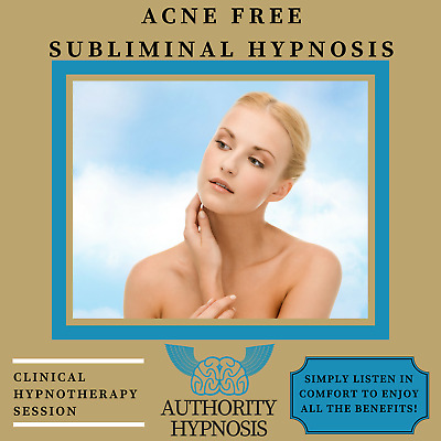 Acne Free Hypnosis, Clear Smooth Skin, Blemish Treatment, Balance Your Hormones