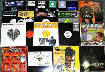 "20 x 12"" US * HIP HOP / RAP * EMINEM - COMMON - LIL DAP - BOOGIE DOWN PRO (2/17)"