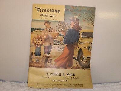 1943-44 Fall And Winter Firestone Tire Merchandise Catalog