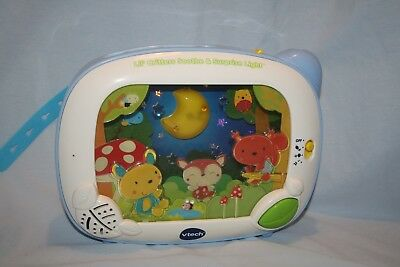 Vtech Lil' Critters Soothe & Surprise Light Crib Toy Soother Projector WORKS