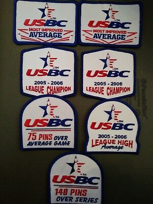 Lot of 11! New USBC Bowling Patches and Pins