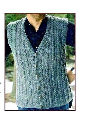 AWESOME CABLE FOLLOW-THE-LEADER CARDIGAN to KNIT by JANET SZABO