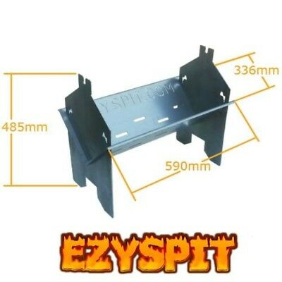zyspit Flat Pack Spit BBQ Rotisserie folding Fire Pit Portable camping barby