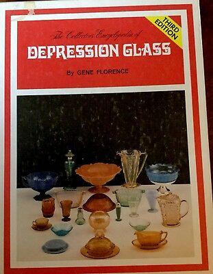 Collectors Encyclopedia of Depression Glass Third Edition Guide by Gene Florence