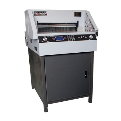 """18"""" Programmable Full Automatic Electric Paper Cutter 450VS US Seller"""