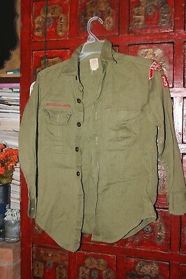 Vintage Boy Scouts Of America Uniform Shirt, Pants and Hat