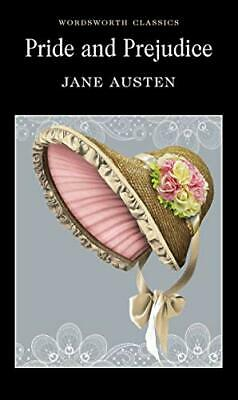 Pride and Prejudice (Wordsworth Classics) by Jane Austen New Paperback Book