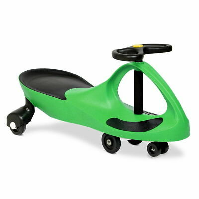 RIGO Swing Car Swivel Slider Kids Ride On Toy Stable Wiggle Scooter Safe Speed