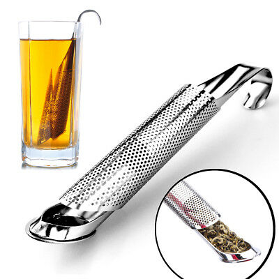 Stainless Steel Tea Infuser Pipe Design Metal Tea Strainer for Mug Filter Tea  Z