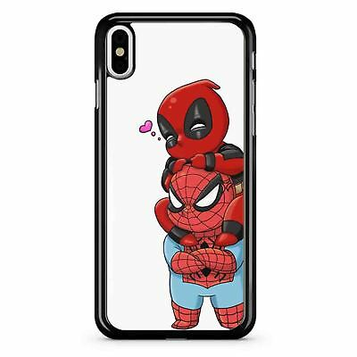 Deadpool and Spiderman Chibi Case Phone Case for IPhone & Samsung LG GOOGLE IPOD
