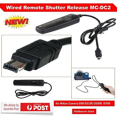 Wired Remote Shutter Release MC-DC2 for Nikon Camera D90 D3100 D5000 D5100 D7000
