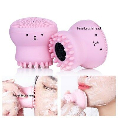 1x Octopus Shape Facial Brush Cleaner for Girls | Deep Pore Cleansing