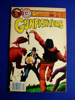 Gunfighters 81. Western (series formerly Kid Montana). Charlton 1983.  FN.