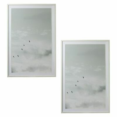 NEW Amalfi Gliding Framed Canvas Print (Set of 2)