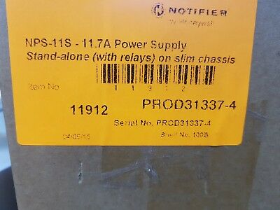 Honeywell Notifier  open frame power supply NPS-11