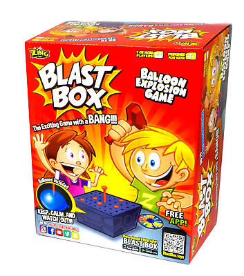 Boom Boom Balloon Blast box Family Party Board Game Adults Kids Toy Xmas Gifts