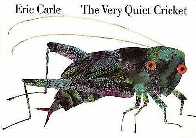 The Very Quiet Cricket Board Book  (ExLib, NoDust) by Carle, Eric