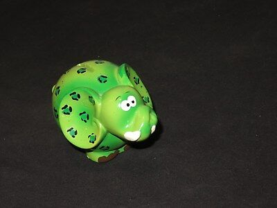 Vintage Elephant Coin Bank Hippie Mid Century Composition (K224)