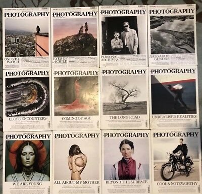 British Journal of Photography Magazines 2013- January to December