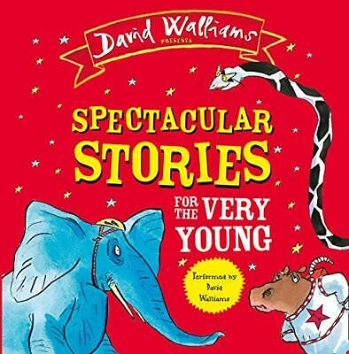 Spectacular Stories for the Very Young: Four by David Walliams New Audio CD Book