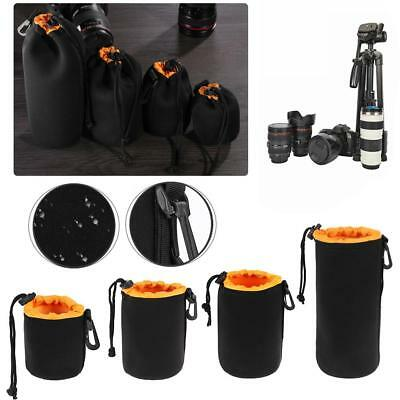 Waterproof Nylon Pouch Bag Protector Case for Digital SLR Camera Lens S+M+L+XL