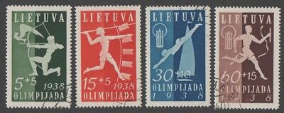 Lithuania. 1938 World Lithuanians Games. Cancelled. VF