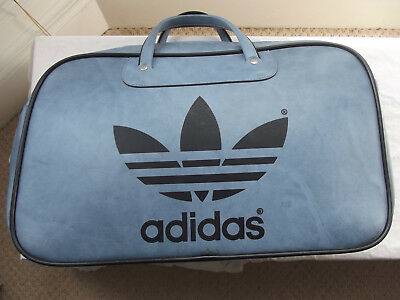 Vintage RETRO Adidas Peter Black Blue Sports Bag Travel Holdall 1970s NEVER  USED 1d871c8a1ed3b